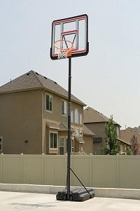 Lifetime 1269 Pro Court-Height Adjustable Basketball Hoop