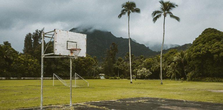 Height of basketball hoop