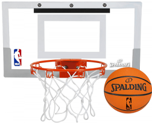 Spalding Over-The-Door Mini Basketball Hoop Wall Mount(1)
