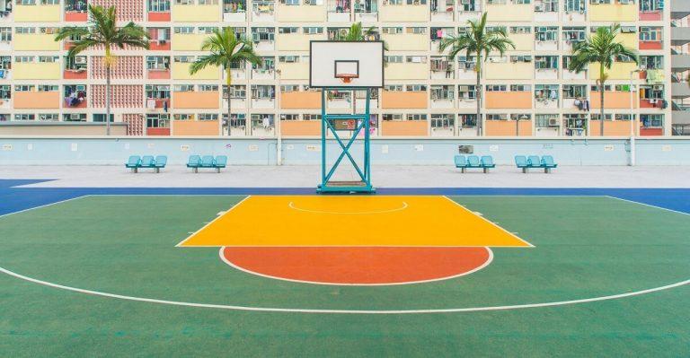 outdoor basketball for concrete