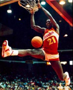 Tom Chambers dunk