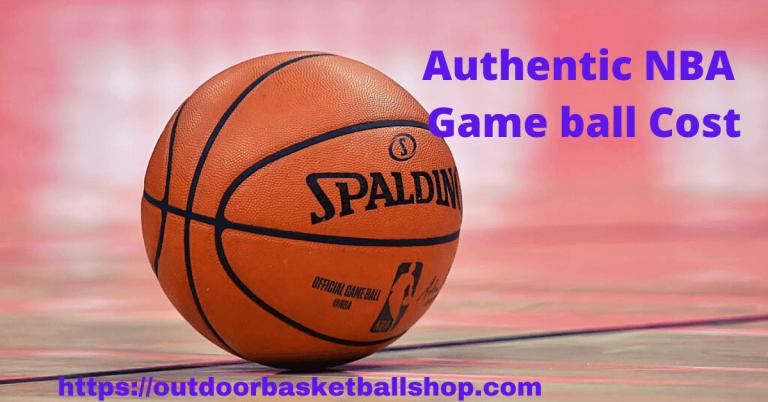 NBA gameball Cost